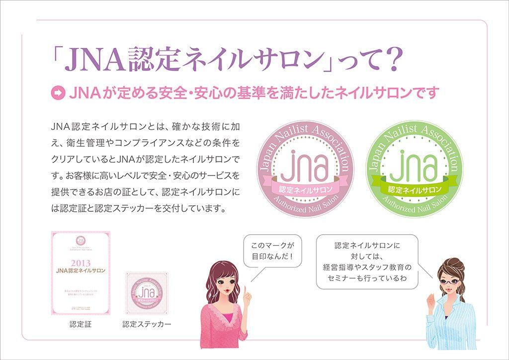 「JNA認定ネイルサロン」って?